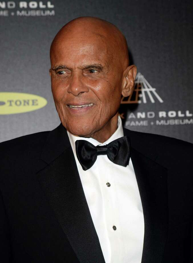 Singer Harry Belafonte poses in the press room at the 28th Annual Rock and Roll Hall of Fame Induction Ceremony at Nokia Theatre L.A. Live on April 18, 2013 in Los Angeles, California. Photo: Jason Merritt, Getty Images / 2013 Getty Images