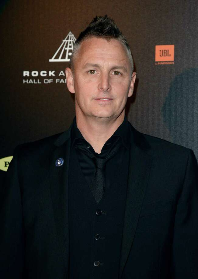Musician Mike McCready poses in the press room at the 28th Annual Rock and Roll Hall of Fame Induction Ceremony at Nokia Theatre L.A. Live on April 18, 2013 in Los Angeles, California. Photo: Jason Merritt, Getty Images / 2013 Getty Images