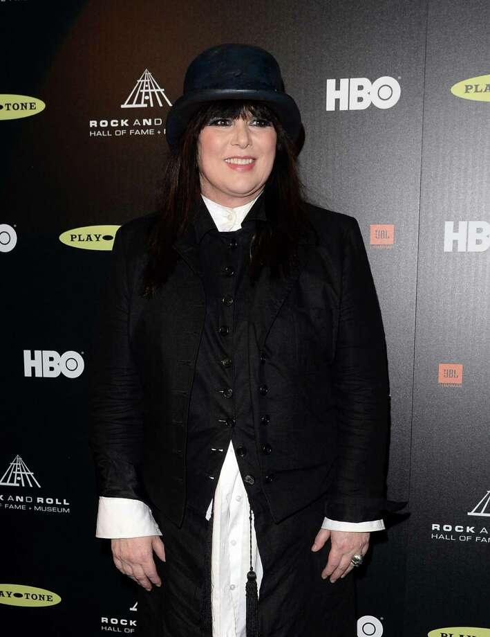 Inductee Ann Wilson of Heart poses in the press room at the 28th Annual Rock and Roll Hall of Fame Induction Ceremony at Nokia Theatre L.A. Live on April 18, 2013 in Los Angeles, California. Photo: Jason Merritt, Getty Images / 2013 Getty Images