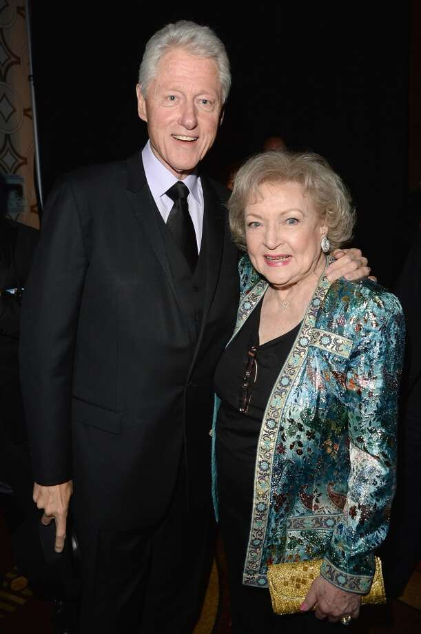 LOS ANGELES, CA - APRIL 20:  Former President Bill Clinton and actress Betty White attend the 24th Annual GLAAD Media Awards presented by Ketel One and Wells Fargo at JW Marriott Los Angeles at L.A. LIVE on April 20, 2013 in Los Angeles, California.  (Photo by Jason Merritt/Getty Images for GLAAD)