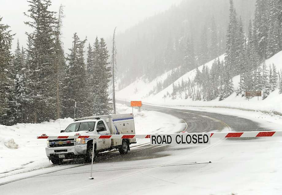 Highway 6 in Colorado was closed after backcountry snowboarders were killed in an avalanche in April. Their deaths weren't counted in the industry's tally. Photo: Karl Gehring, Associated Press