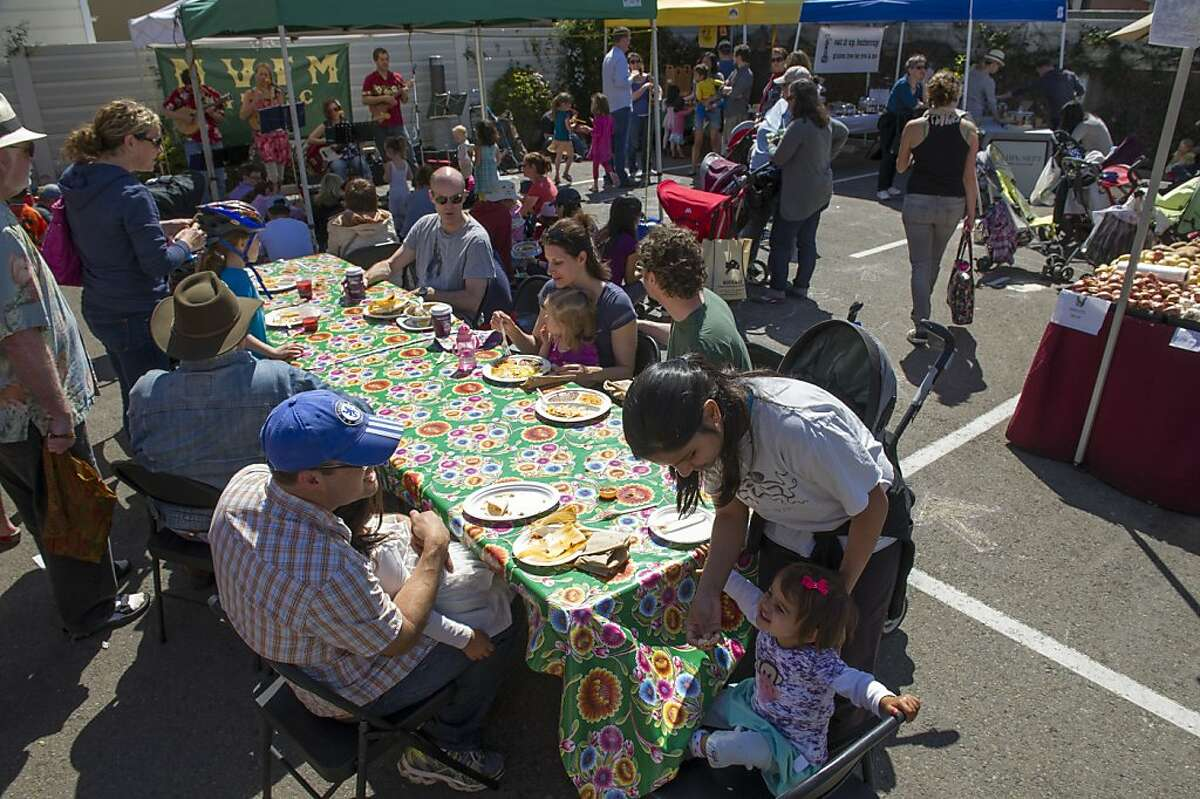 The Noe Valley Farmers Market location will be transformed into a park with property tax funds.