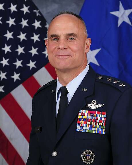 This photo provided by the U.S. Air Force shows Lt. Gen. Craig Franklin. The case involving Franklin who dismissed charges against a lieutenant colonel convicted of sexual assault will be reviewed at the top levels of the Pentagon, Defense Secretary Chuck Hagel said in a letter released Monday, March 11, 2013. But it's seemed unlikely that the ruling would be changed. Hagel said that under military law, neither he nor the Air Force secretary has the authority to reverse Franklin's decision to overturn the conviction against Lt. Col. James Wilkerson, a former inspector general at Aviano Air Base in Italy. (AP Photo/U.S. Air Force) Photo: Associated Press