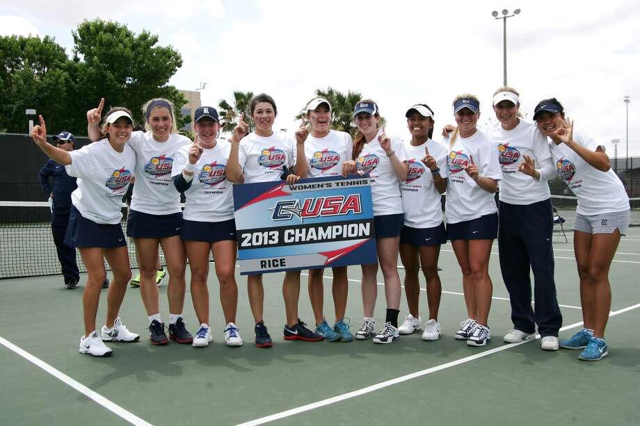 The Rice women claimed the top spot in the C-USA tournament. Photo: Erick Williams