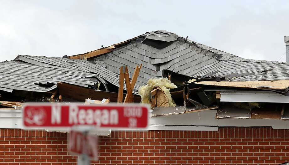 A nursing home, pictured on April 21, 2013, near the West Fertilizer plant explosion was destroyed from the blast in West, Texas. (Pool photo by Michael Ainsworth/Dallas Morning News/MCT) Photo: Michael Ainsworth, McClatchy-Tribune News Service