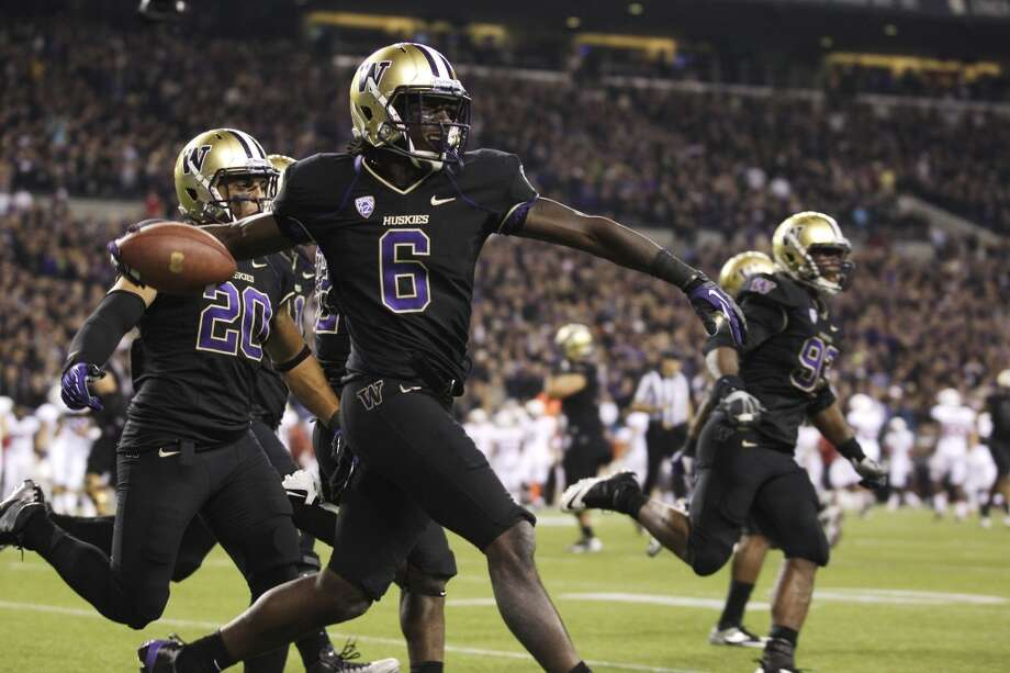 Desmond Trufant, CB, 6-0, 190, 4.38, Washington  A four-year starter with good size and outstanding speed. Comes from a football family. Understands the position. Very coachable. Splendid athlete who sometimes relies on natural athleticism rather than sound fundamentals. Needs to improve techniques in the NFL. Plays hard against the run. Likes to get physical with receivers. Should go in the bottom half of the first round.