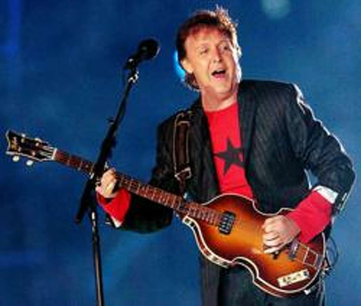 Paul's show The aesthetic of the album was predominantly McCartney's.