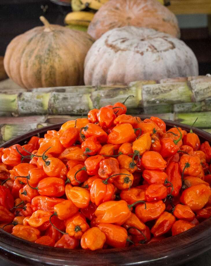Habanero Peppers at Miss Ollie\'s in Oakland.