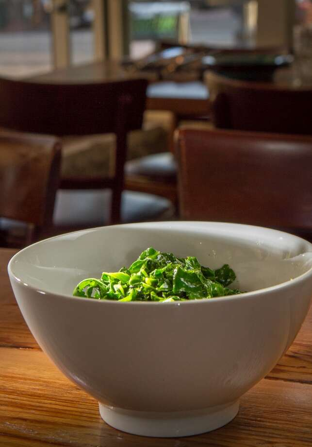 The greens side dish at Miss Ollie\'s.