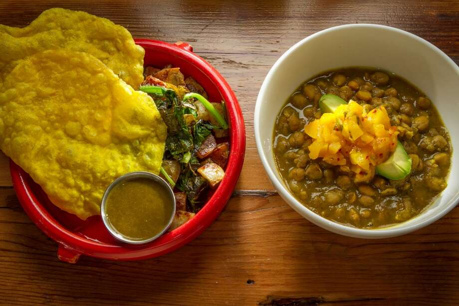 The Channa Curry at Miss Ollie\'s in Oakland.