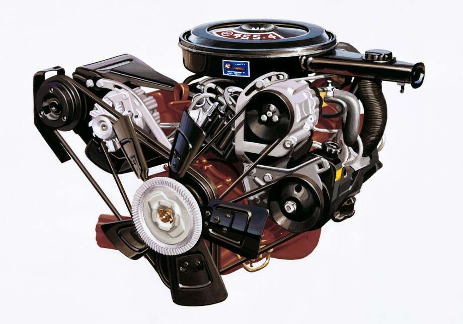 Today's powerful Buick engines use technology like turbocharging to combine power and efficiency, but displacement was once king. The brand's largest engine, a 455 cubic inch V-8, was produced from 1970-75. Photo: Buick