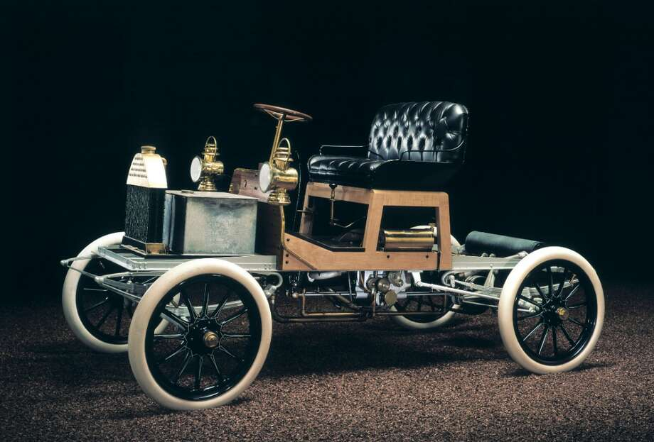 The first production Buick was also the shortest. The 1904 Model B rode on a wheelbase of 83 inches, more than 17 inches less than a 2013 Buick Encore. Photo: Buick