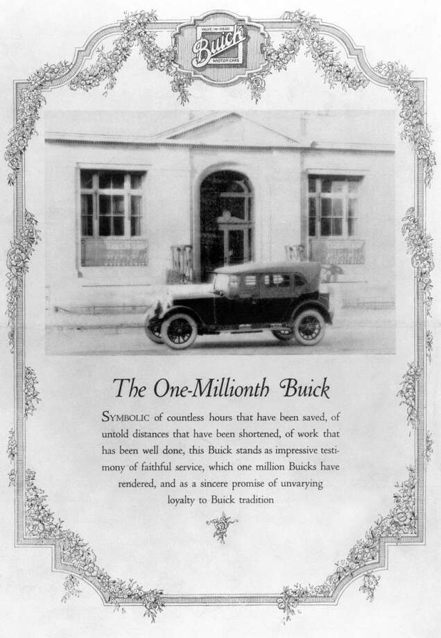 To date, Buick has produced more than 43 million vehicles. The first million took two decades, with the milestone touring sedan shown here rolling off the line in 1923. Photo: Buick