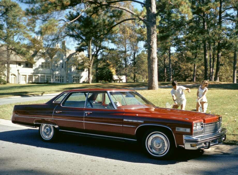 Buick's longest car, the 1975 Buick Electra sedan, measured 233.7 inches from bumper to bumper. Photo: Buick