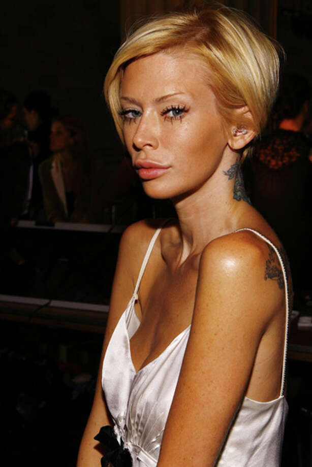 Jenna Jameson was officially charged June 25, 2012 after driving drunk and crashing into a light pole according to TMZ. Police also found Ambien and Suboxone in her system. Photo: Mat Szwajkos, Getty Images / Getty Images North America