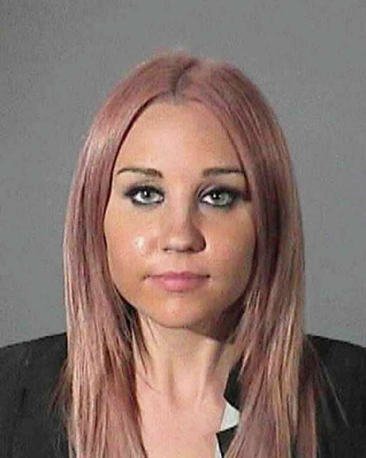 TMZ reports Amanda Bynes was arrested in April of this year and allegedly attempted to flee the scene. Photo: Handout, Getty Images / 2012 Los Angeles County Sheriff's Office