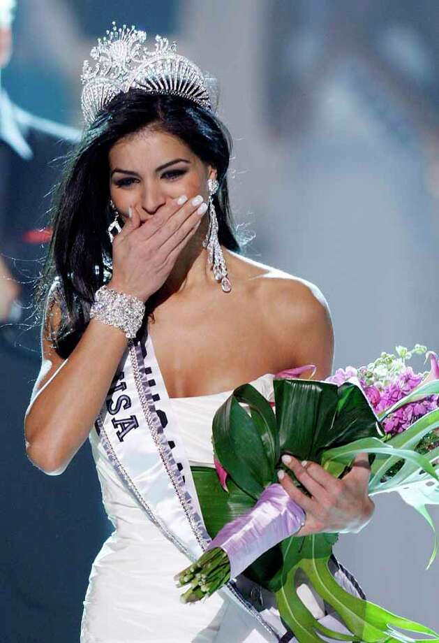Former Miss USA Rima Fakih was arrested for driving while under the influence of alcohol in 2011 and was sentenced to six months of probation, 20 hours of community service and $600 in fines according to MSNBC. Photo: Isaac Brekken, AP / FR159466 AP