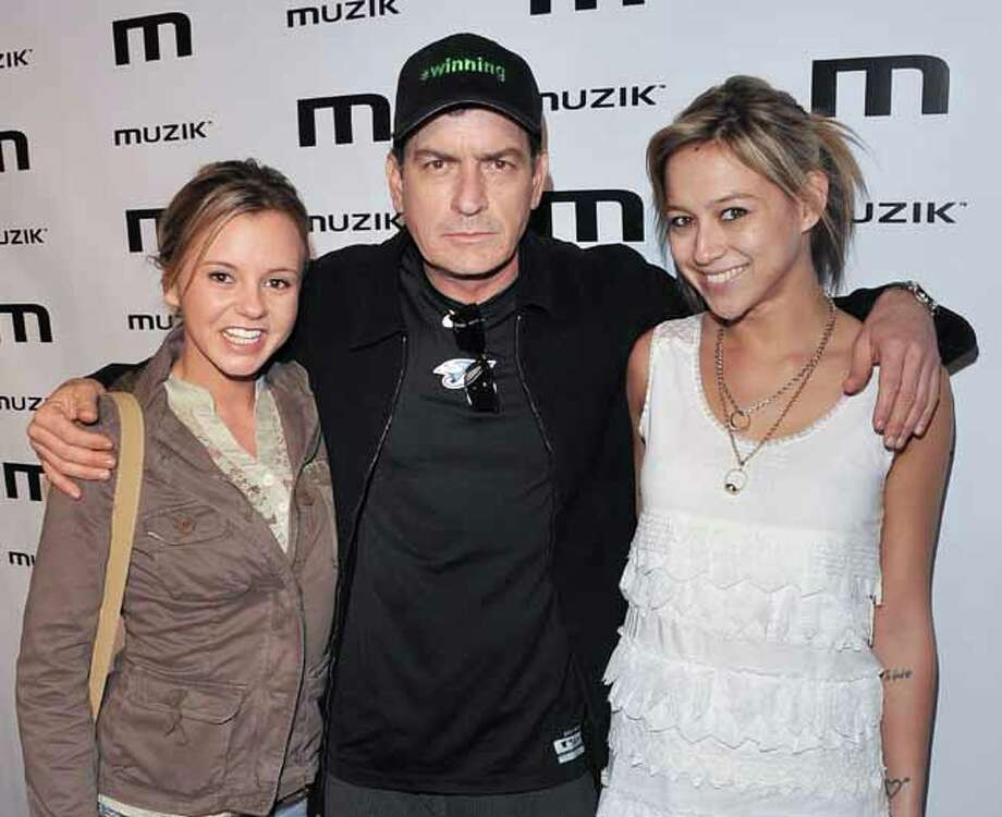 Former Charlie Sheen goddess Bree Olson, pictured left, was arrested and pleaded guilty for driving while drunk in 2011 reports TMZ. Photo: George Pimentel, Getty Images / Getty Images North America