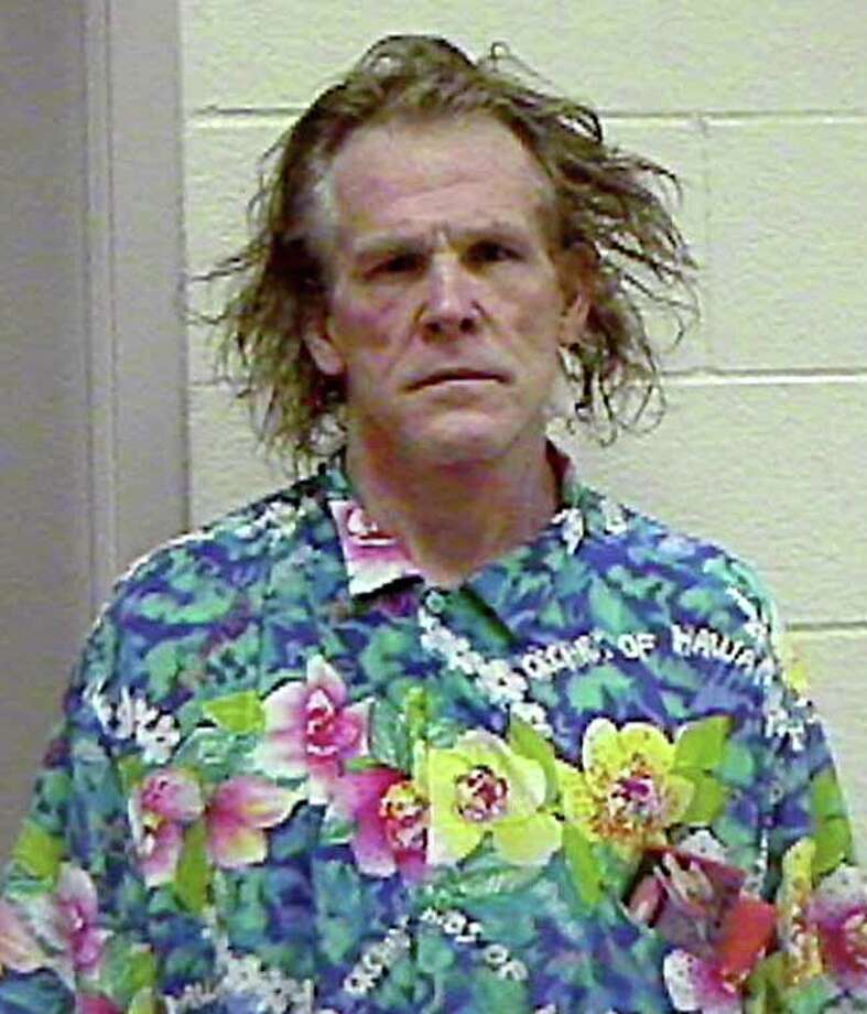 According to The Smoking Gun Nick Nolte was arrested for driving under the influence in 2002. Nolte's mugshot later went viral. Photo: AP / THE CALIFORNIA HIGHWAY PATROL
