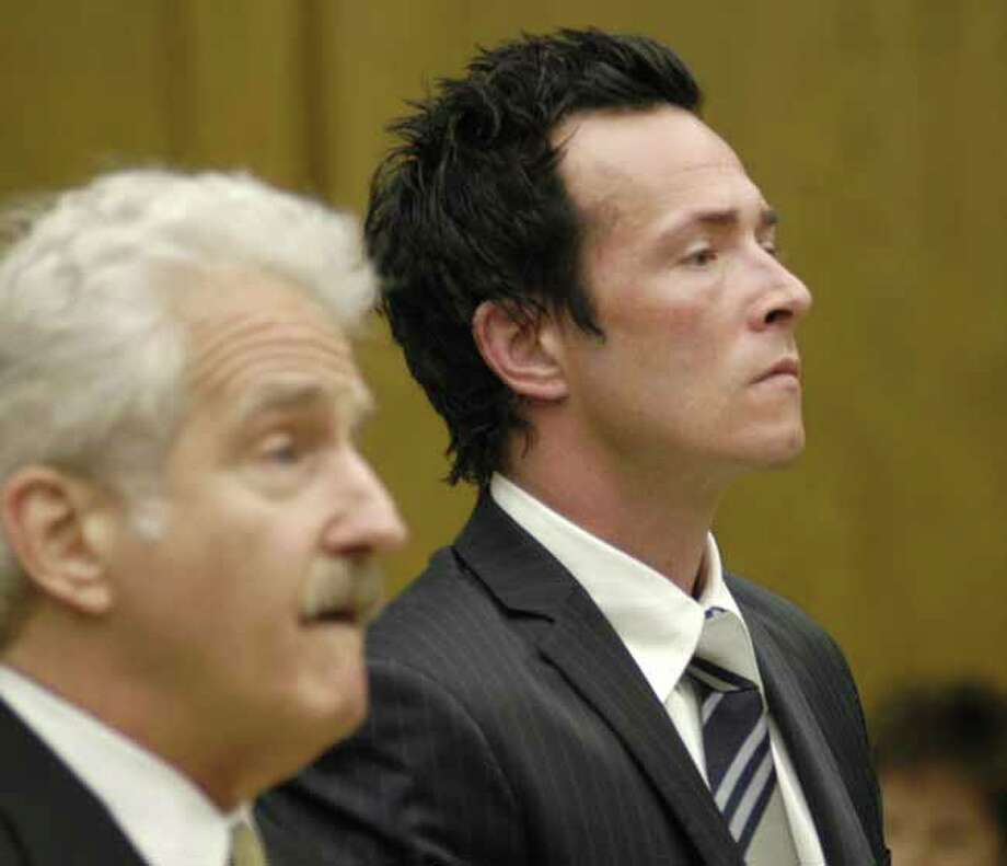 MTV reports the Stone Temple Pilots and Velvet Revolver singer Chris Weiland was arrested in 2007 for driving under the influemce but Weiland denied the charges. Photo: STEVE GRAYSON, AP / POOL WIREIMAGE