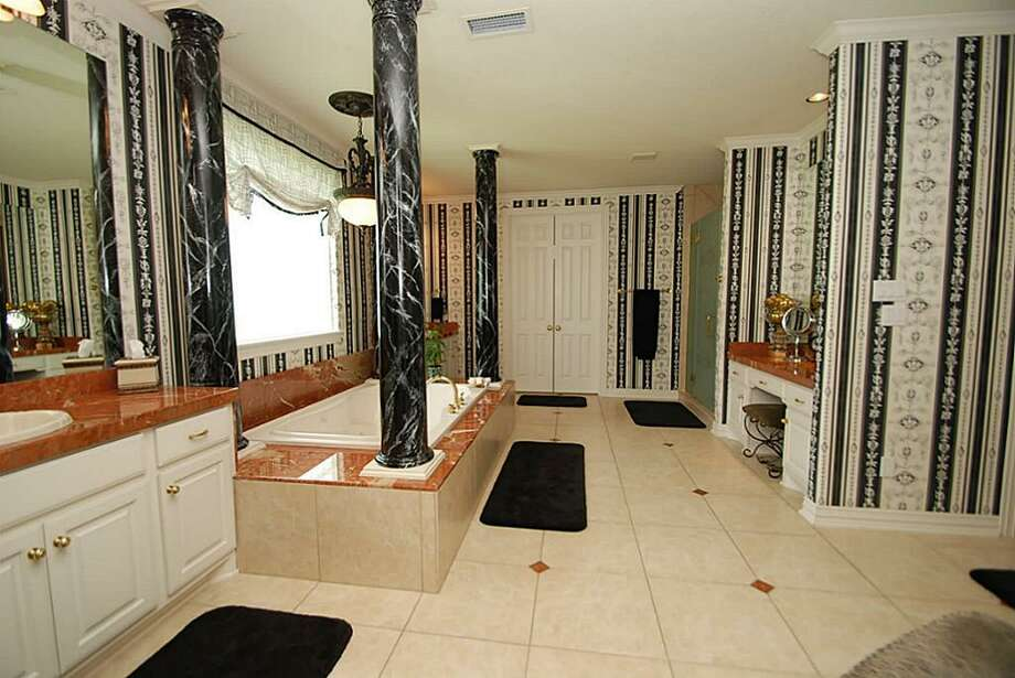 Another view of the master bath. Photo: Annu Naik