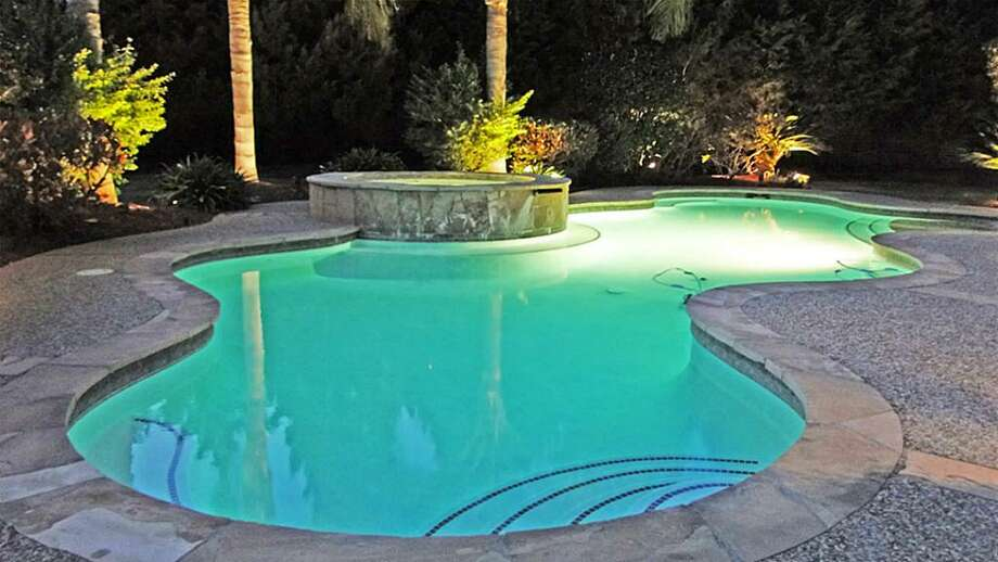 The home comes with a gorgeous pool and spa.See the listing for 2602 Birchmere CourtCheck to see if your neighborhood stacks up Photo: Annu Naik
