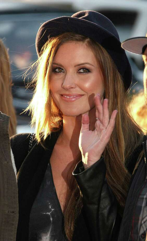 """Time for a series of stars in little hats. Here\'s Audrina Patridge at the screening of \""""Waiting For Lightning\"""" in Hollywood. Photo: Frederick M. Brown, Getty Images / 2012 Getty Images"""