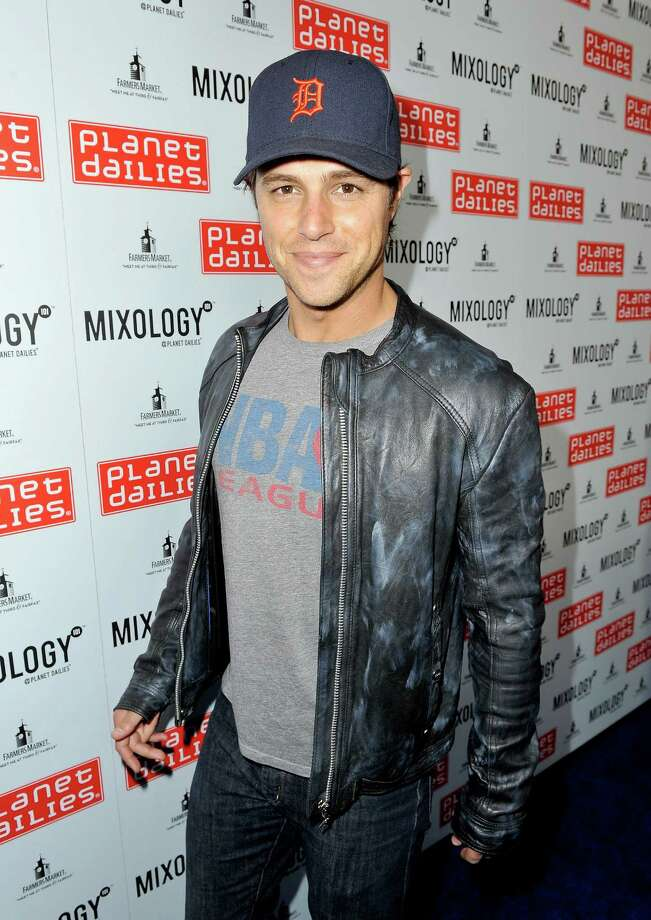 Actor Sam Page arrives at the opening of Planet Dailies & Mixology 101 in Los Angeles. Photo: Jerod Harris, Getty Images For Mixology 101 / 2012 Getty Images