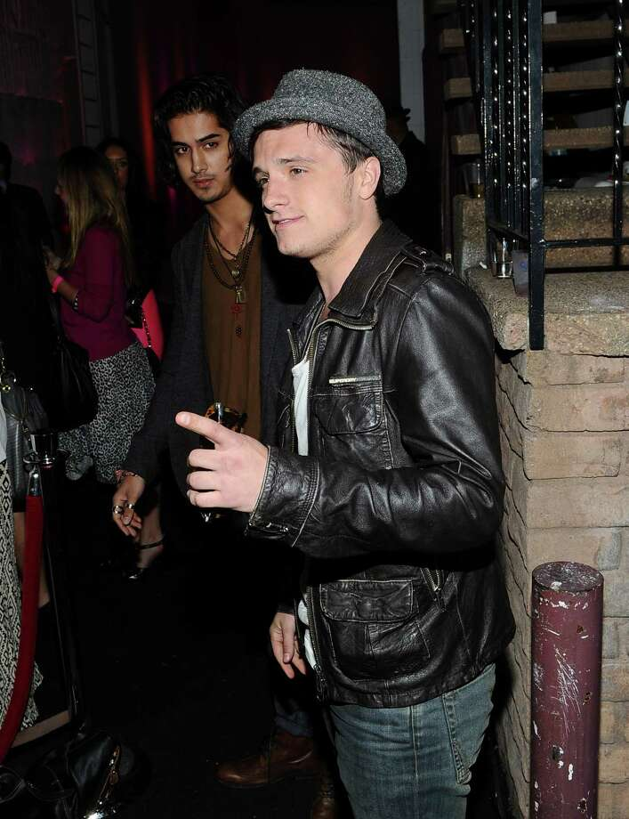 Josh Hutcherson arrives at NYLON Magazine\'s anniversary party in West Hollywood. Photo: Michael Buckner, Getty Images / 2012 Getty Images