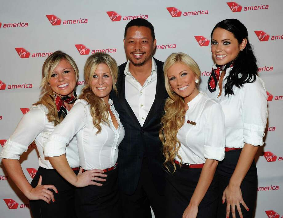 Actor Terrence Howard attends the launch party for Virgin America\'s first flight from Los Angeles to Philadelphia. Photo: Michael Buckner, Getty Images / 2012 Getty Images