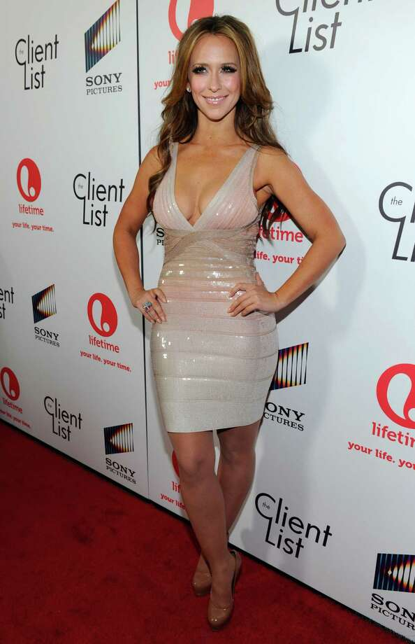 "Jennifer Love Hewitt attends the launch party for Lifetime and Sony Pictures\' ""The Client List\"" in West Hollywood. Photo: Alberto E. Rodriguez, Getty Images For Lifetime / 2012 Getty Images"