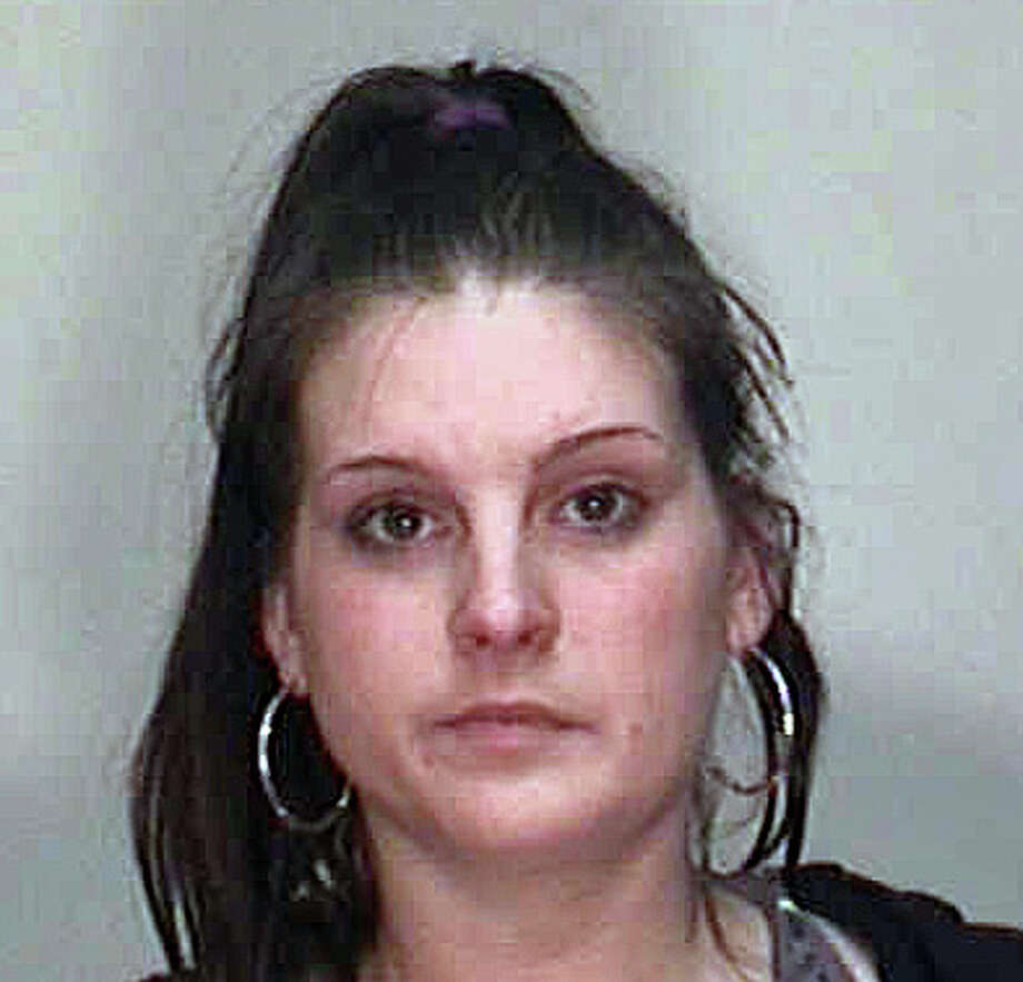 Larissa Arabolos-Choplick, 22, has been charged with sixth-degree larceny. Photo: Contributed Photo / Fairfield Citizen