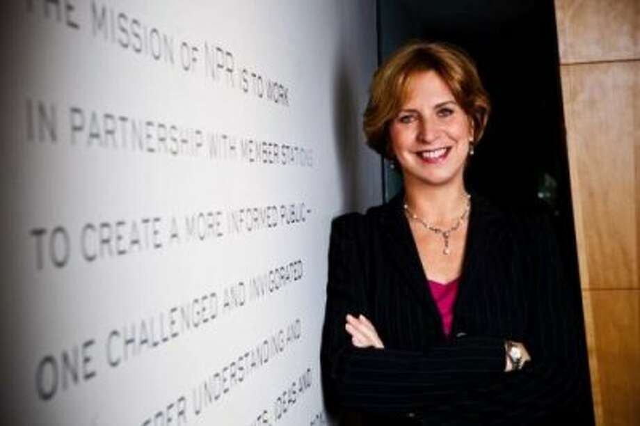 """Vivian Schiller, Chief Digital Officer at NBC News, former CEO of NPR""""You're never as good as your best review, and never as bad as your worst.' I was given this advice by a former boss, and it has since stuck with me as a guide for getting through the best of times and the worst of times.""""Looking back on my career and all of the places I've been, there have been incredible highs and lows at each point along the way. What I've come to learn is that life is cyclical and the best way to stay focused is to ignore the swings and instead focus on the long run."""" Photo: Business Insider"""