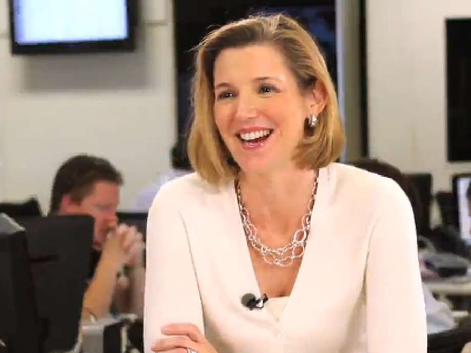 """Sallie Krawcheck, former President of Merrill Lynch, US Trust, Smith Barney""""One day, after some petty humiliation, I came home in tears. My mother sat me down and told me, in a voice that I thought of as her 'telephone voice' (meaning, reserved for grown-ups), that I should ignore the girls [from school]; the only reason they were treating me poorly was because they were jealous of me. Therefore I should ignore the chattering crowds and set my own course."""" Photo: Business Insider"""