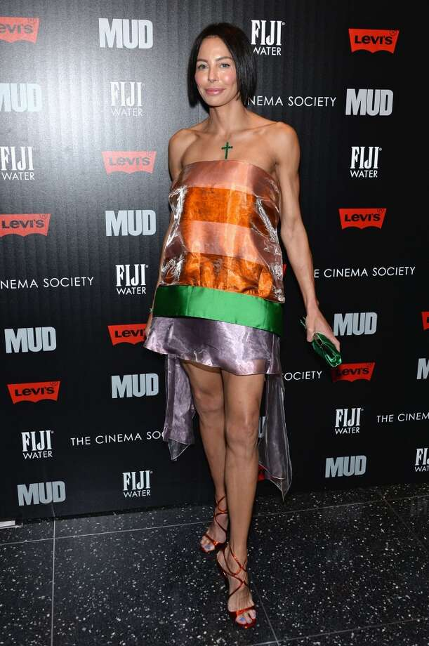"""NEW YORK, NY - APRIL 21:  Lisa Falcone attends The Cinema Society With FIJI Water & Levi\'s screening of \""""Mud\"""" at The Museum of Modern Art on April 21, 2013 in New York City.  (Photo by Dimitrios Kambouris/Getty Images)"""