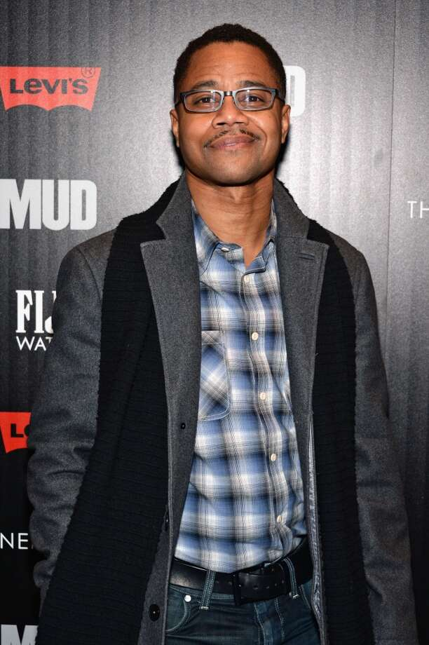 """NEW YORK, NY - APRIL 21:  Actor Cuba Gooding Jr. attends the Cinema Society with FIJI Water & Levi\'s screening of \""""Mud\"""" at The Museum of Modern Art on April 21, 2013 in New York City.  (Photo by Dimitrios Kambouris/Getty Images)"""