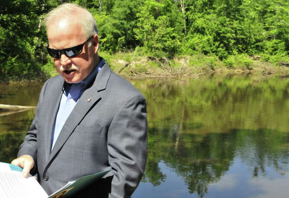 A $1 million settlement was announced Monday on the banks of Village Creek by U.S. Attorney John M. Bales that will benefit nature conservation groups in the Eastern District of Texas. Photo: Cassie Smith