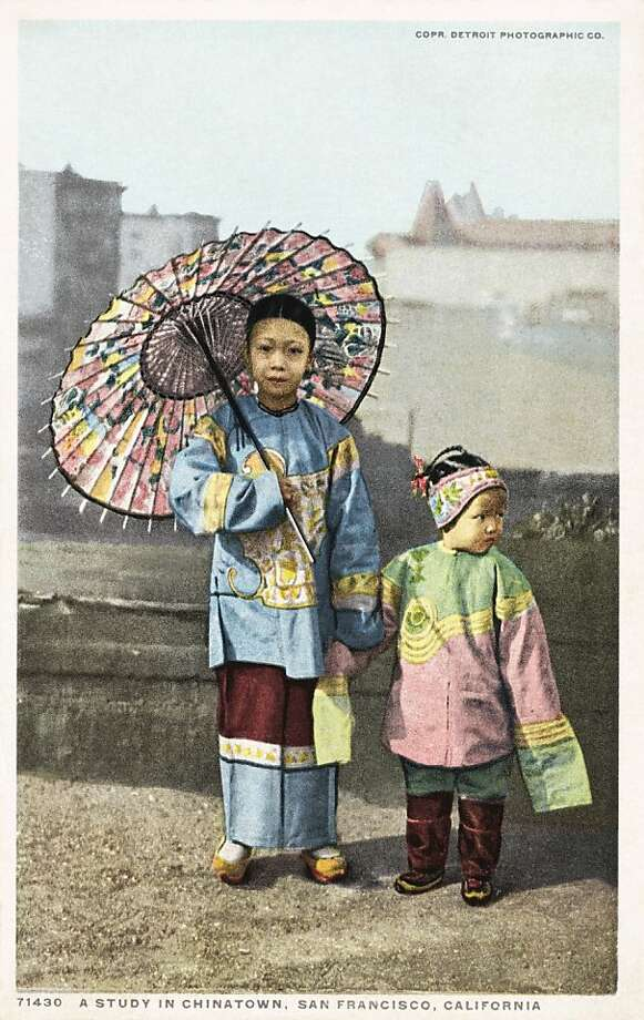 A Study in Chinatown, San Francisco. Postcard circa 1915-25. Photo: UniversalImagesGroup