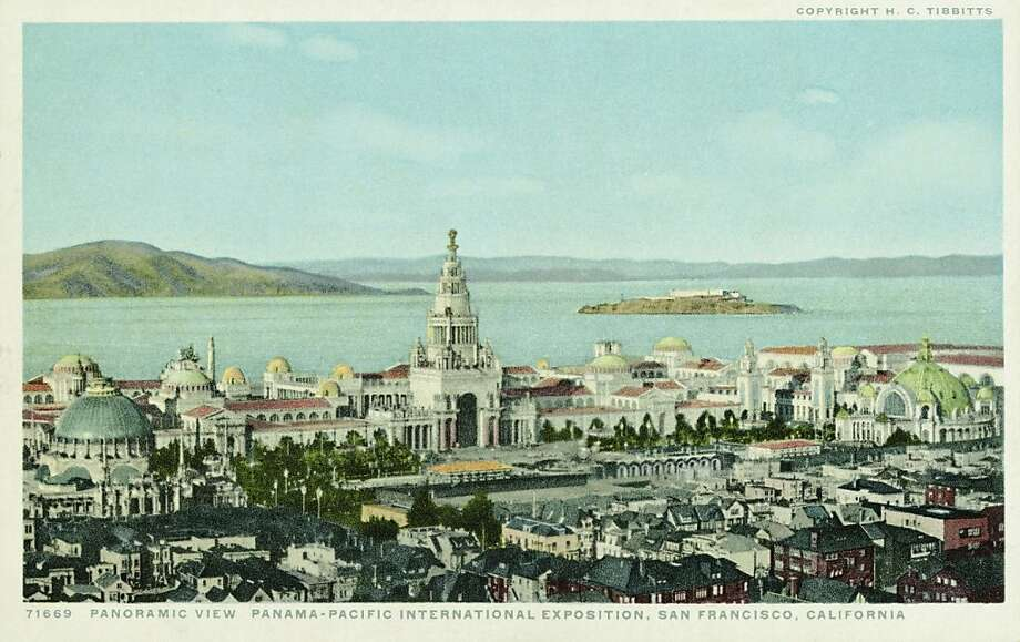 Panoramic View, Panama-Pacific International Exposition, 1915, San Francisco.   Photo: UniversalImagesGroup