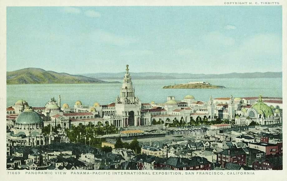 Panoramic View, Panama-Pacific International Exposition, 1915, San Francisco.  Photo: UniversalImagesGroup