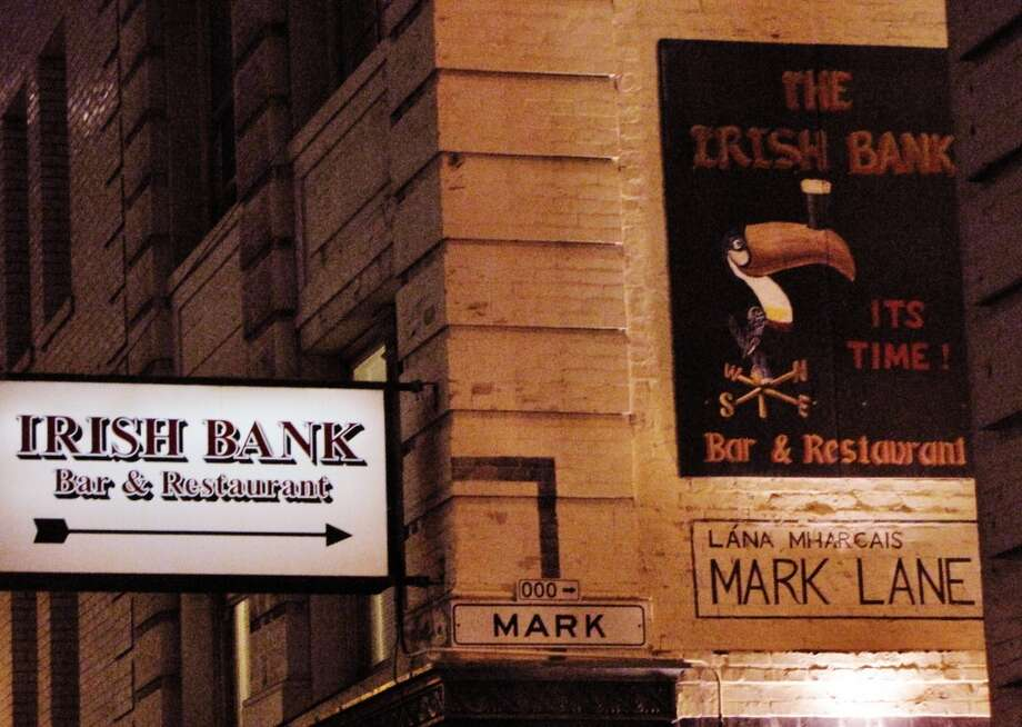 Irish Bank (10 Mark Ln, San Francisco): Tucked away between the Financial District and Union Square, it's a great place for a pint on a warm evening. Photo: San Francisco Chronicle