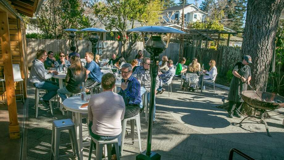 Bravas Bar de Tapas, Healdsburg: Most of the Starks' Spanish restaurant is dedicated to its big outdoor area. Photo: San Francisco Chronicle, Jason Henry