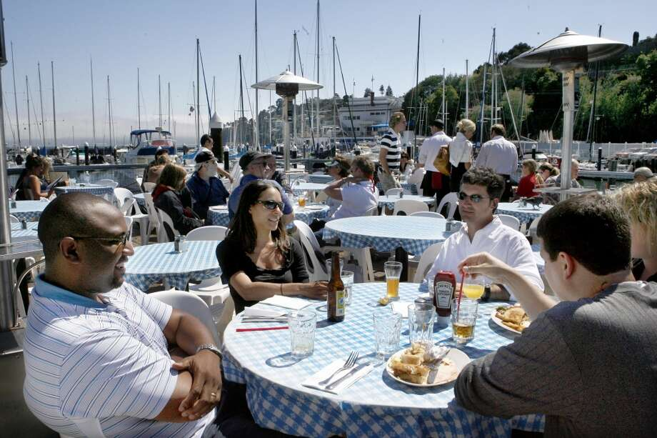 Sam's Anchor Cafe, Tiburon. Just because. Photo: San Francisco Chronicle
