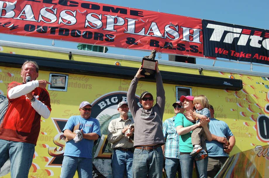 Alex Finch of Lancaster Texas  Champion of the 29th Annual Sam Rayburn Big Bass Splash