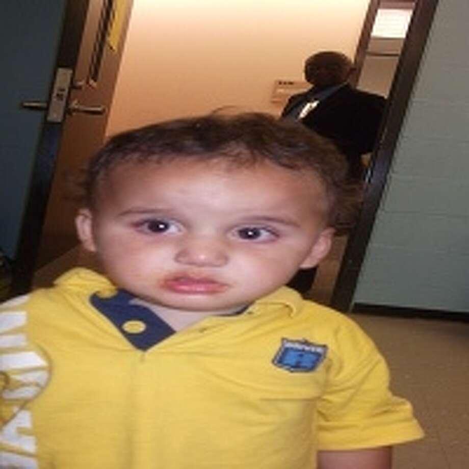 This toddler was found wandering alone around Traders Village Flea Market on Sunday.