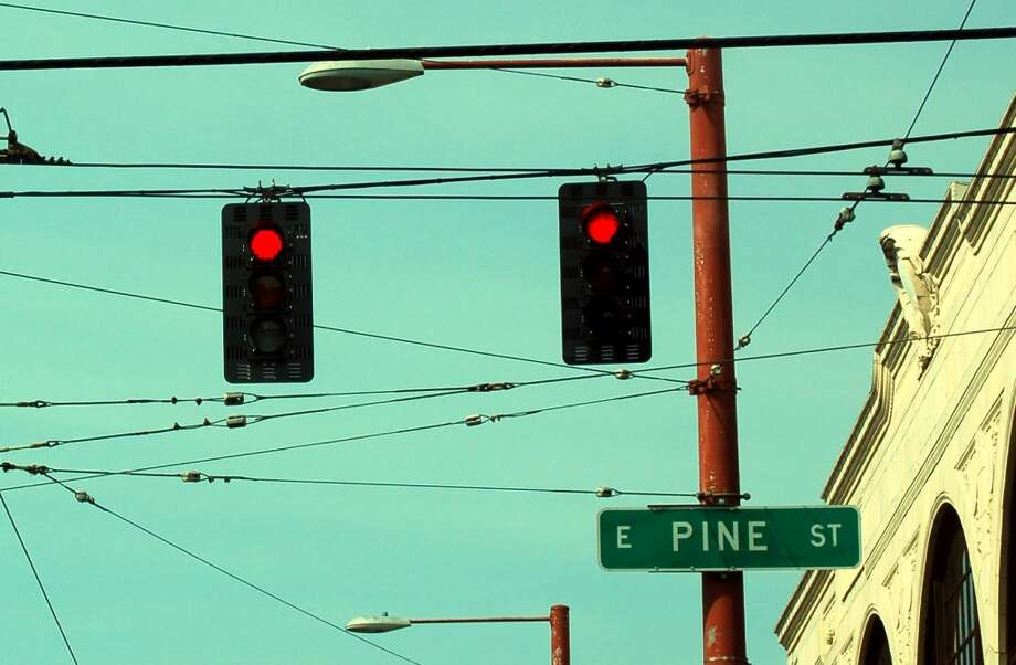 But still can't remember how Pike and Pine go. (One trick: The ''n'' in Pine stands for ''north,'' so Pine is north of Pike). Photo: Getty Images/Flickr RF