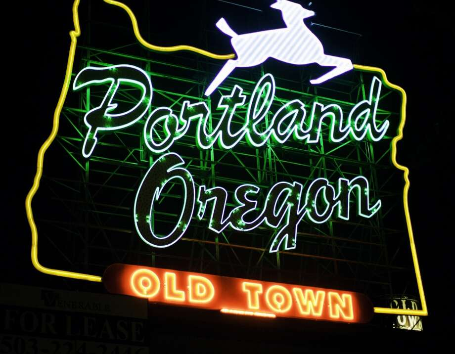 12. Portland, Ore.: How expensive is the City of Roses? Expatistan says a good bottle of red wine costs $16, two pounds of apples go for $3.79, and a dozen eggs are $2.86.  Photo: Getty Images