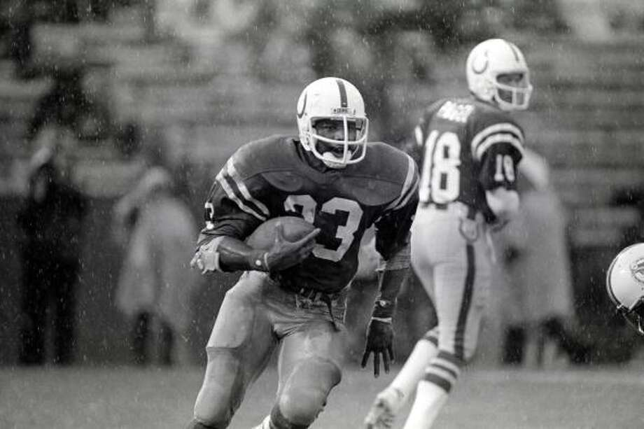 Curtis Dickey  The running back was selected fifth overall by the Baltimore Colts in 1980.