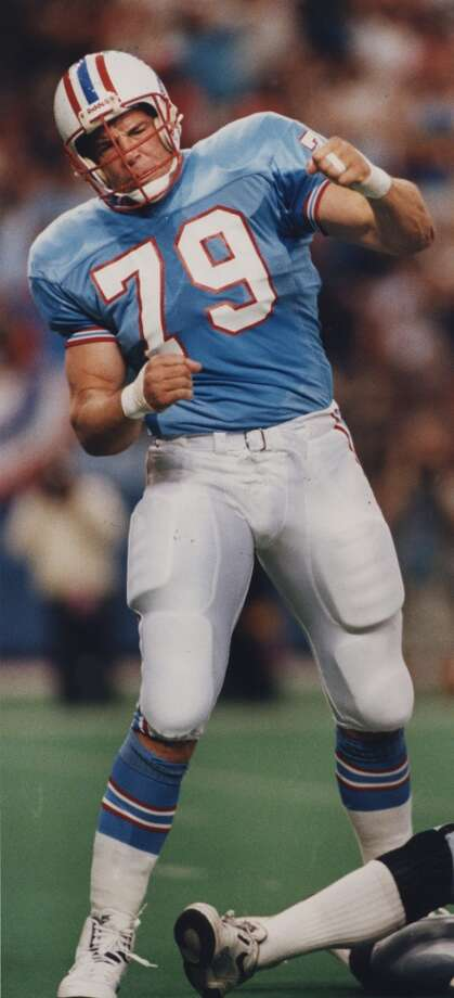 Ray ChildressThe defensive end was picked No. 3 overall by the Oilers in 1985.