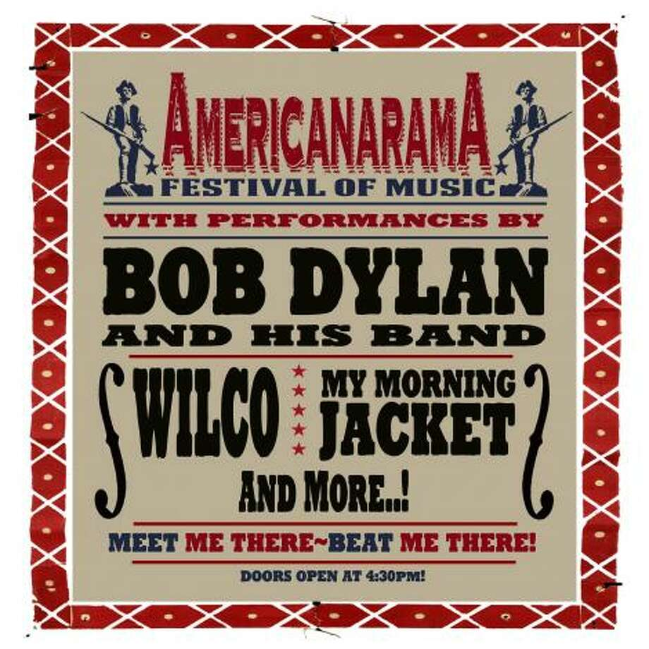AmericanaramA featuring Bob Dylan, Wilco and My Morning Jacket rolls into Webster Bank Arena in Bridgeport July 19.